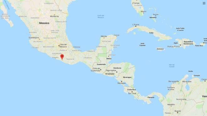 Terremoto in Messico, magnitudo 5.4