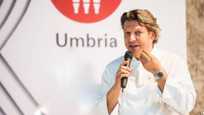 Lo chef umbro salentino Giancarlo Polito
