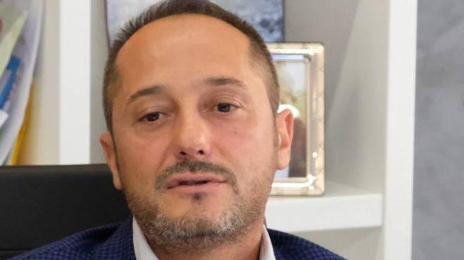 Il presidente del Modena Carmelo Salerno era presente oggi a Cremona