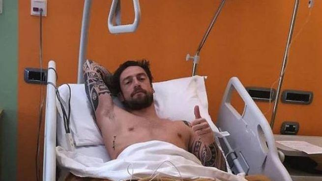 Claudio Marchisio, foto su Instagram dopo l'operazione