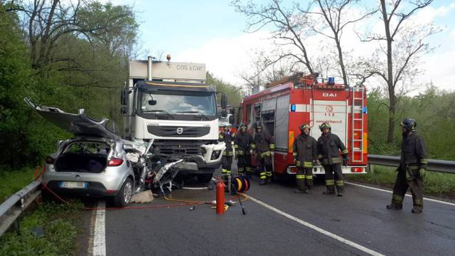 L'incidente a Lomaniga di Missaglia