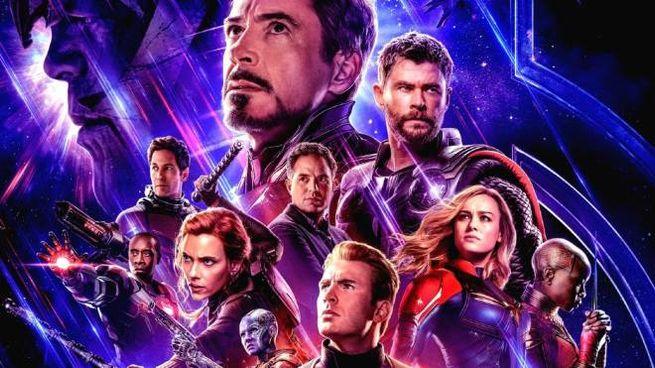 La locandina di 'Avengers: Endgame'