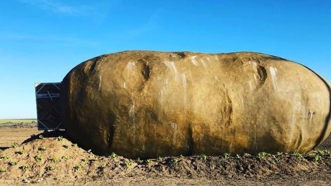 Il Big Idaho Potato Hotel - Foto: instagram/idahopotatoes