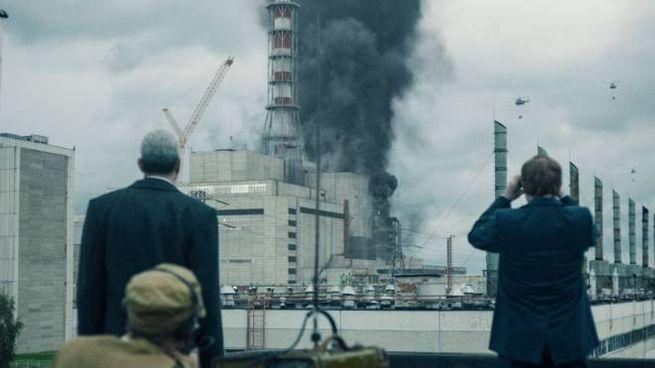 Una scena della serie tv Sky-Hbo dedicata a Chernobyl