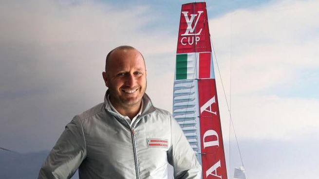 Lo skipper Max Sirena, 47 anni (Ansa)