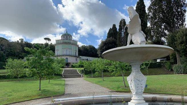 Fontana di Ganimede e Kafeehaus