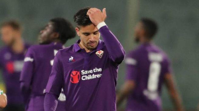 Fiorentina-Sassuolo, Simeone (foto Germogli)