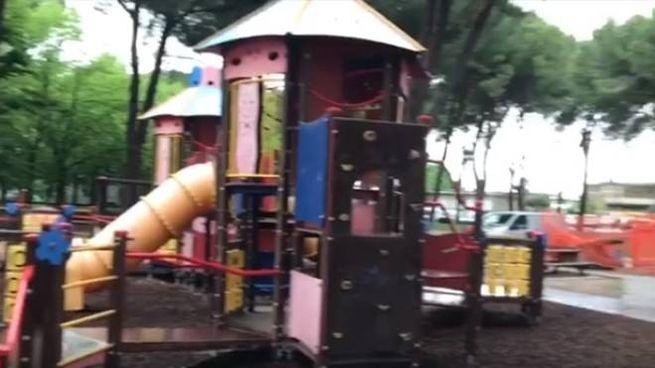 Partiti i lavori al parco