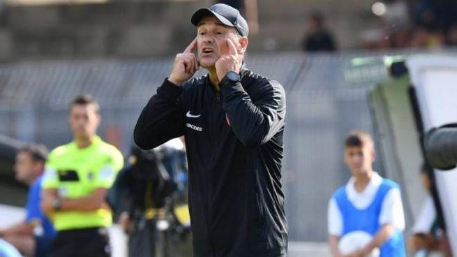 Il tecnico dell'Ascoli, Vincenzo Vivarini
