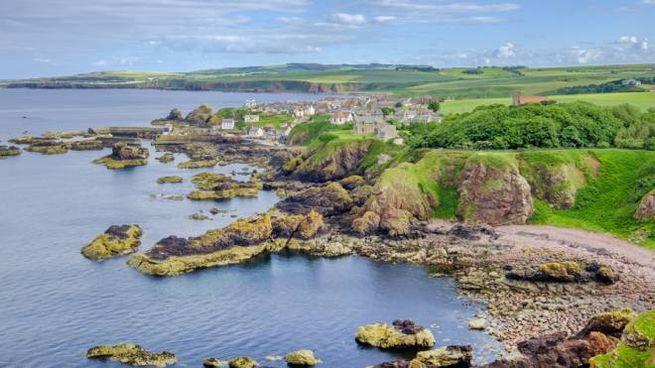 Il borgo di St Abbs, in Scozia, una delle location di 'Avengers: Endgame'