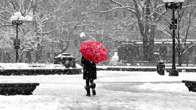 Previsioni meteo, neve in arrivo (foto d'archivio)