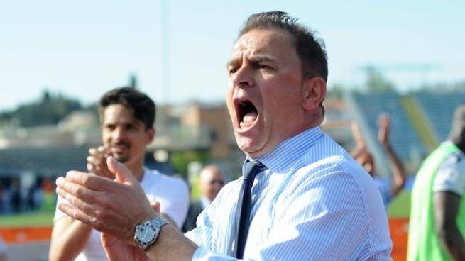 La grinta di Leonardo Semplici, fiorentino, allenatore della Spal