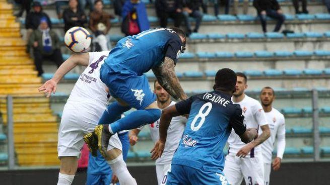 Empoli-Fiorentina, il gol di Farias (Tommaso Gasperini/Fotocronache Germogli)