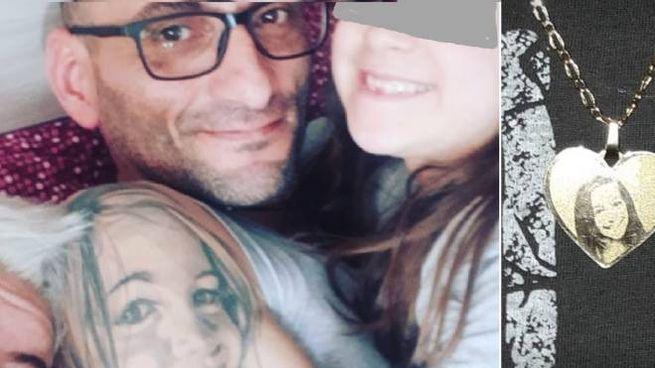 Fabio Rinaldo ha tatuato sul braccio il ritratto della figlioletta Giulia