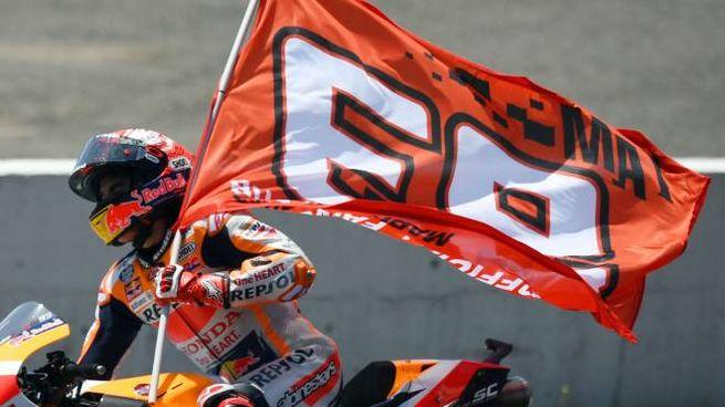 Marc Marquez vince a Jerez (LaPresse)