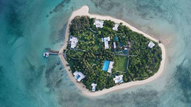 Vista aerea del resort da 100mila dollari a notte - Foto: www.banwaprivateisland.com
