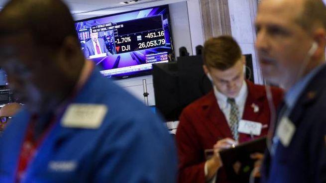 c9c10a24a2 Borsa Italiana, Milano chiude in rosso dopo le stime Ue. Spread ...