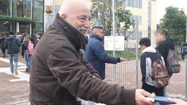 Michele Cometa, uno dei membri dell'organizzazione 'Gideons'