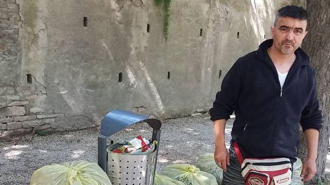 Valentin si dedica in particolare ai giardini della Pisana e al Parco Merloni