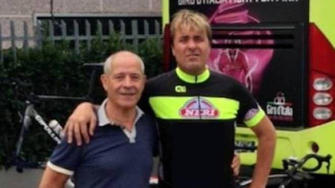Da sx lo sponsor Giuliano Baronti e Luca Scinto