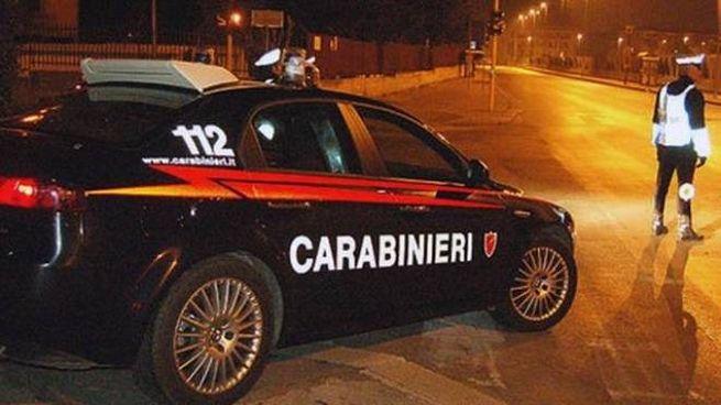 L'alt dei carabinieri