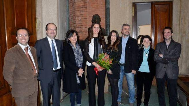 La campionessa Martina Batini si  è laureata