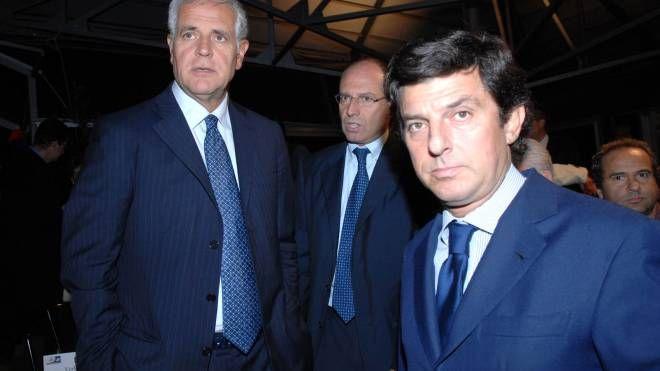 Massimo Buscemi con Roberto Formigoni ai tempi dell'esperienza nella giunta regionale