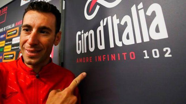 Vincenzo Nibali partirà oggi alle 16.58 (Lapresse)