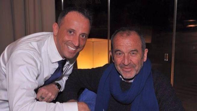 Gian Piero Cassano (qui con Santini) va in pensione