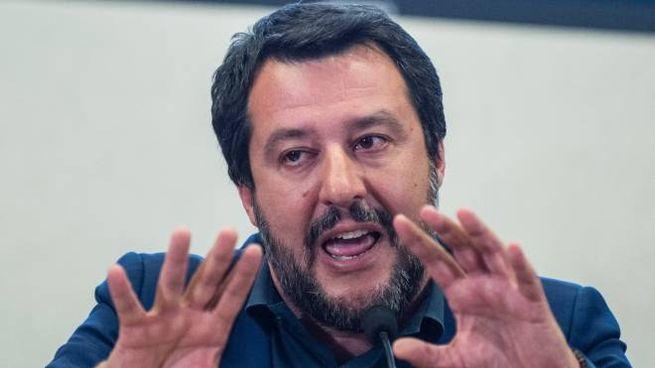 Il vicepremier e ministro dell'Interno Matteo Salvini (Lapresse)