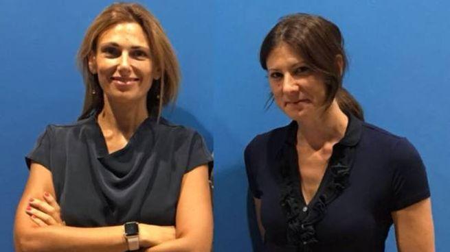 Da sinistra, Costanza Gagliano e Nicole Traini