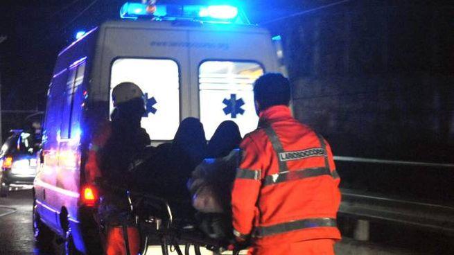 Ambulanza sul luogo dell'incidente (immagine d'archivio)