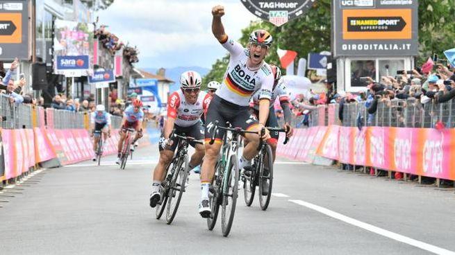 Pascal Ackermann vince a Fucecchio (LaPresse)