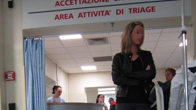 L'area Triage del pronto soccorso dell'ospedale San Salvatore