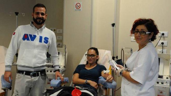 Donatori al centro trasfusionale (foto d'archivio)