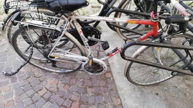 Alcune bici recuperate