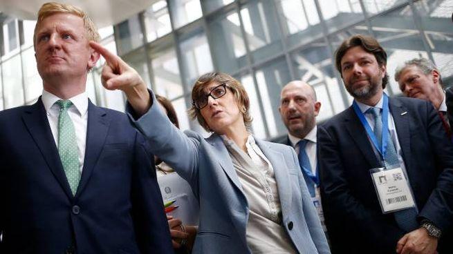 Il ministro Giulia Bongiorno al Forum della P.a. (Lapresse)