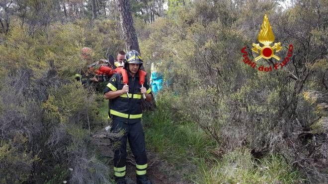I soccorsi alla donna in Galceti