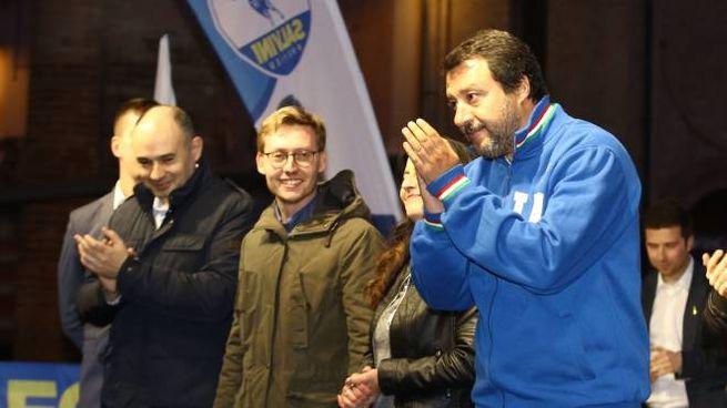 Matteo Salvini a Carpi (FotoFiocchi)