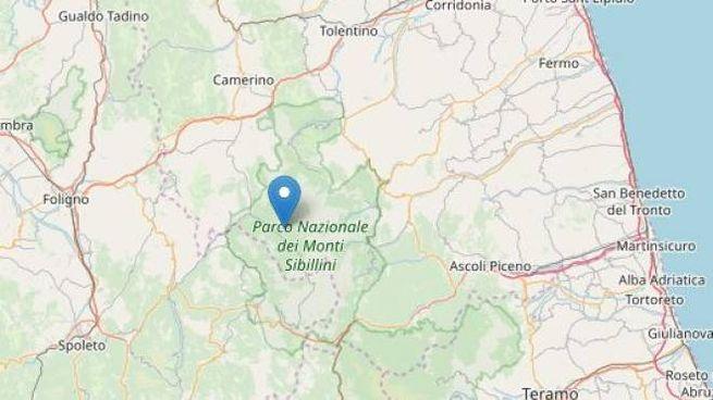 Terremoto Macerata, epicentro a Castel Sant'Angelo sul Nera (foto Openstreetmap)