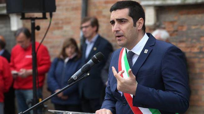 Il sindaco di Ravenna Michele De Pascale (Foto Zani)