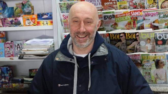 Roberto Terenzi, edicolante a Pesaro: ha fatto arrestare uno spacciatore (Fotoprint)