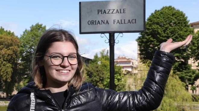 Piazzale Oriana Fallaci alla Fortezza (Foto NewPressPhoto)