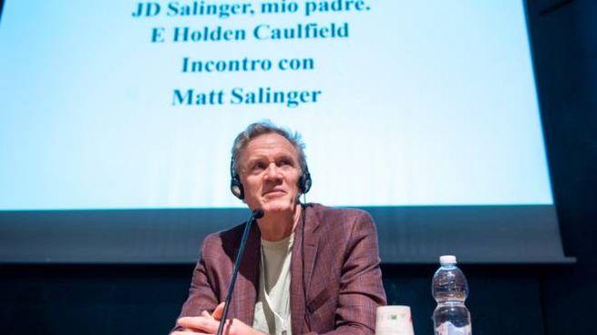 Matt Salinger, il figlio di J.D. Salinger (Foto: LaPresse/Nicolò Campo)