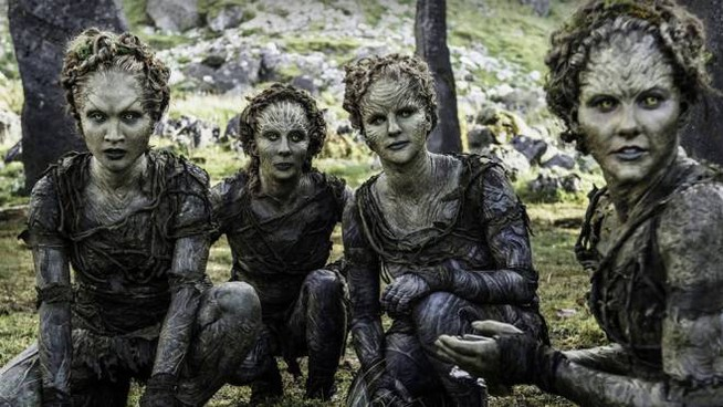 I Figli della foresta come compaiono in 'Game of Thrones' - Foto: HBO