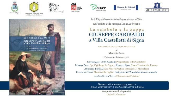 Giuseppe Garibaldi a Villa Castelletti di Signa