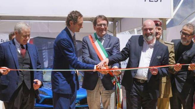 L'inaugurazione con John Elkann (foto Fiocchi)