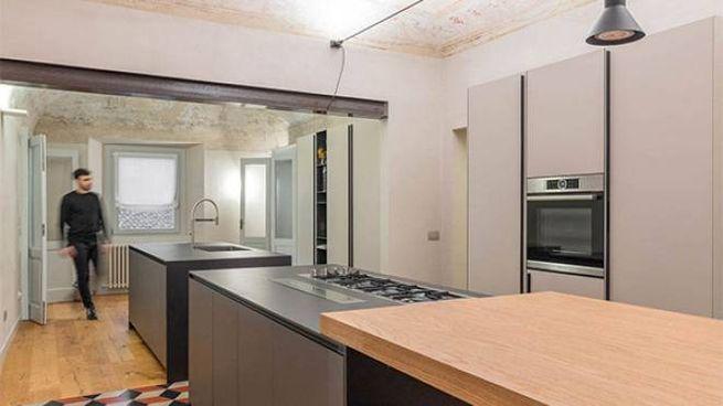 appartamento d'epoca ristrutturato a Piacenza