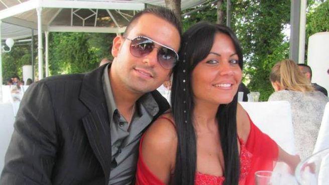 I genitori della piccola Noemi, il papà Fabio (25 anni) e la mamma Tania di 22