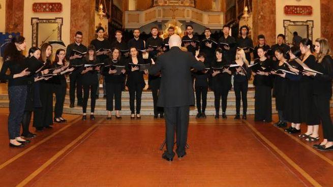 Il Coro Gregoriano del Conservatorio Rossini